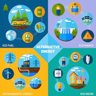 Zestaw alternatywnych energii
