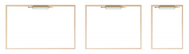 Zestaw arkuszy papieru w schowku