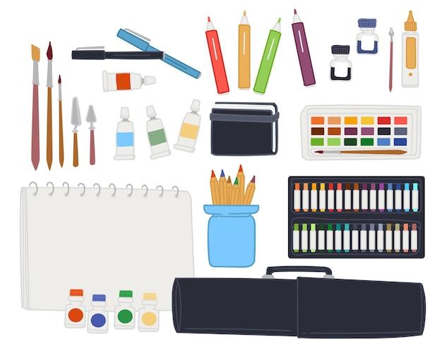 Zestaw artystyczny do rysowania i tworzenia arcydzieł