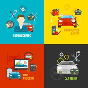 Zestaw auto mechanic