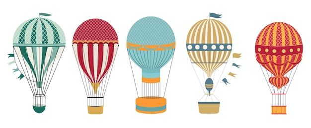 Zestaw balonów aerostat