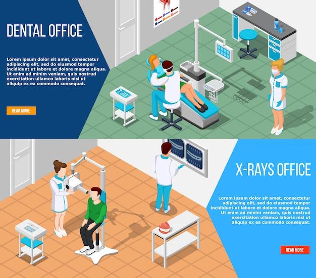 Zestaw banerów stomatologicznych