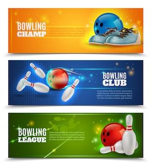 Zestaw banery bowling