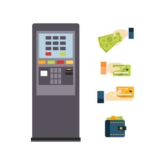 Zestaw bankomatów