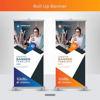 Zestaw bannerów firmowych