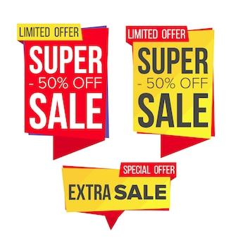Zestaw bannerów sprzedażowych