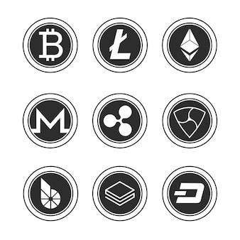 Zestaw bitcoinów