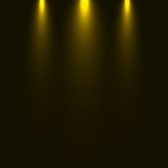 Zestaw błysków, świateł i iskier. streszczenie złote światła na przezroczystym tle. jasne złote błyski i spojrzenia
