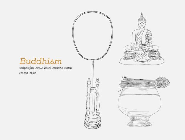 Zestaw buddyzmu