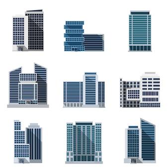 Zestaw budynków biurowych