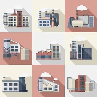 Zestaw budynków przemysłowych