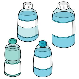 Zestaw butelki z wodą