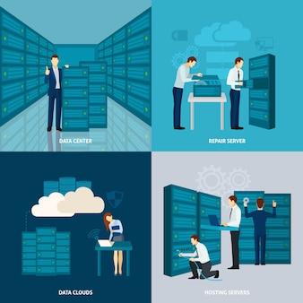 Zestaw centrum danych