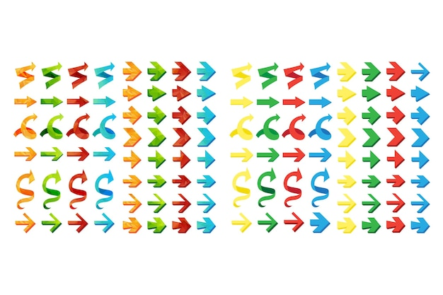 Zestaw, cofanie i poprzednie przyciski na białym tle trójkąt wielokątne strzałki.