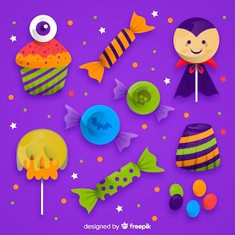 Zestaw cukierków halloween
