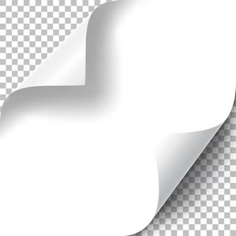 Zestaw curly page corners