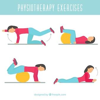 Zestaw ćwiczeń rehabilitacyjnych