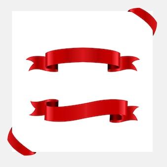 Zestaw czerwoną wstążką