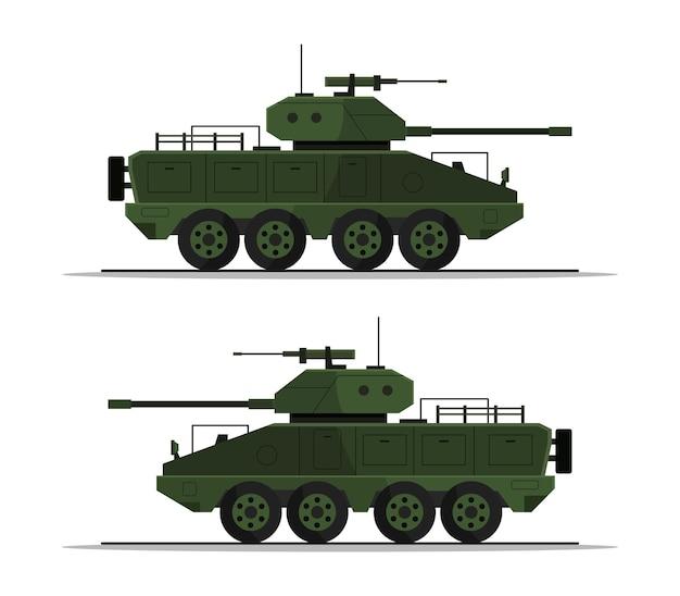 Zestaw czołgów