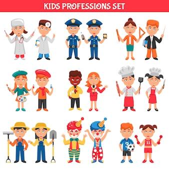 Zestaw dla dzieci zawodów