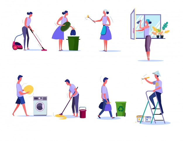 Zestaw do czyszczenia i sprzątania