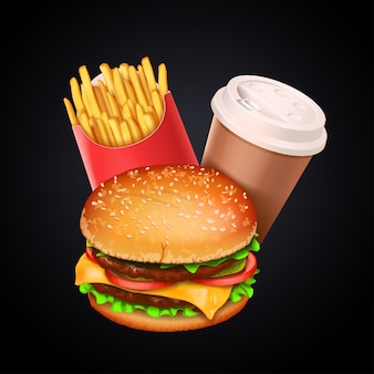 Zestaw do fast foodów