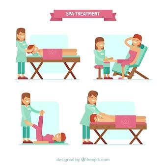 Zestaw do leczenia uzdrowiskowego