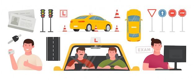 Zestaw do nauki jazdy