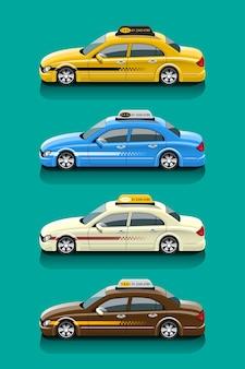 Zestaw do obsługi samochodów taksówkowych