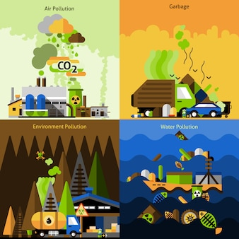 Zestaw do projektowania zanieczyszczeń