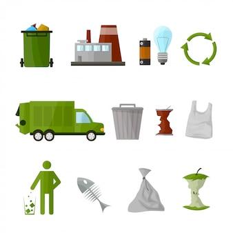 Zestaw do recyklingu śmieci