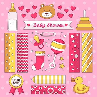 Zestaw do scrapbookingu baby shower