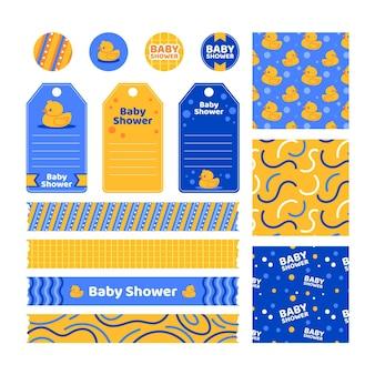 Zestaw do scrapbookingu baby shower