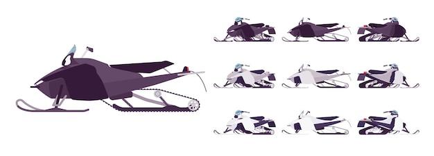 Zestaw do transportu skuterów śnieżnych