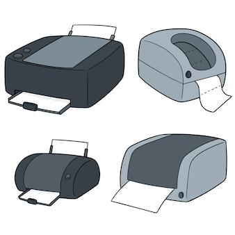 Zestaw drukarek