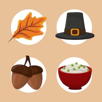 Zestaw dziękczynienia żywności