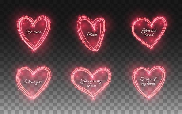 Zestaw efektu blasku lekkiego serca