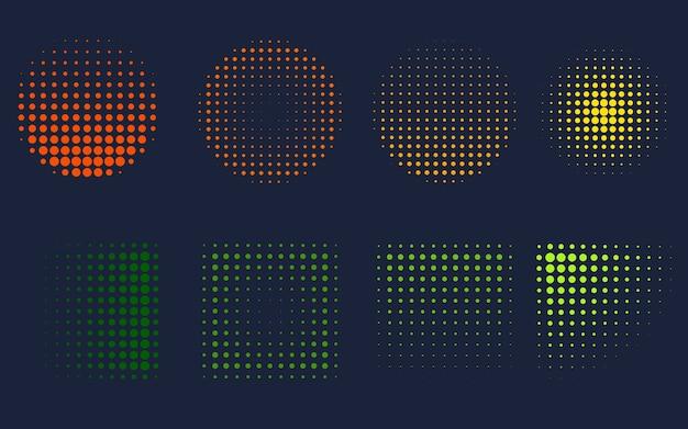 Zestaw efektu gradientu hologramu