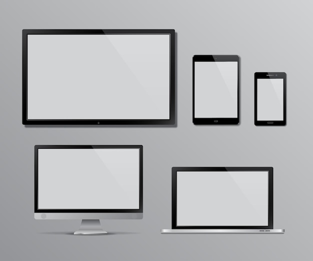 Zestaw ekranu telewizora i monitora komputerowego