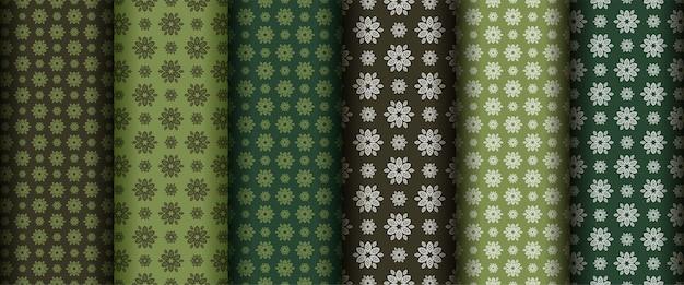 Zestaw elementów abstrakcyjny wzór bez szwu