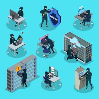 Zestaw elementów aktywności izometrycznej hakowania