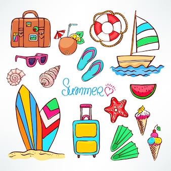 Zestaw elementów letnich