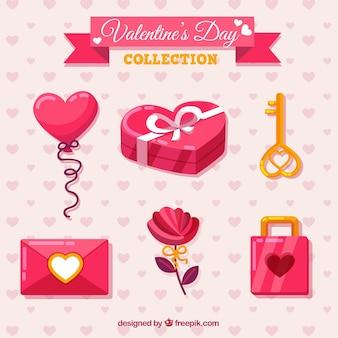 Zestaw elementów valentine