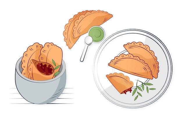 Zestaw empanad
