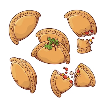 Zestaw empanadas