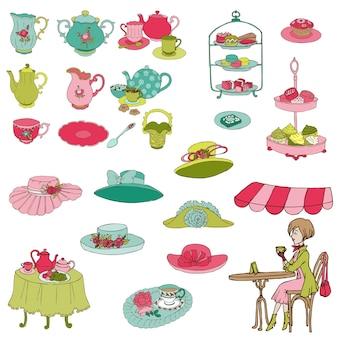 Zestaw english tea party