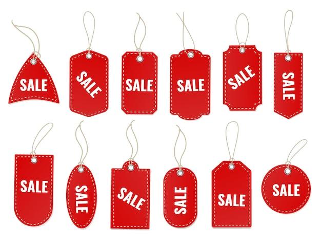 Zestaw etykiet rzemieślniczych sprzedaży