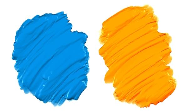 Zestaw farb streszczenie