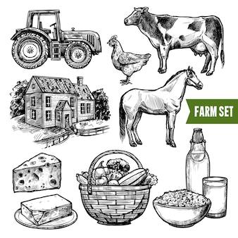 Zestaw farm ekologicznych