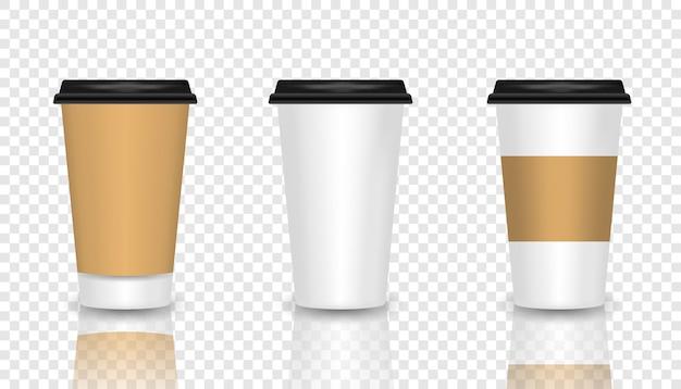 Zestaw filiżanek kawy